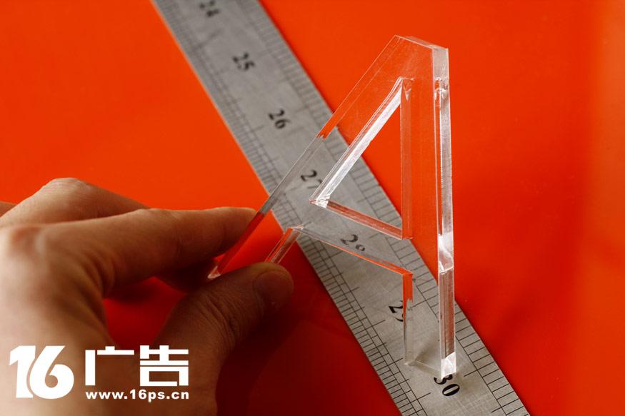 透明的亚克力字水晶字